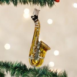 Kerstbal Saxophone