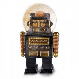 Sneeuwbol De Robot Zwart