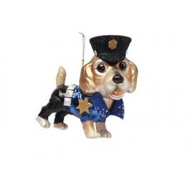 Kerstbal Politiehond