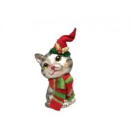 Kerstbal Tabby Kat
