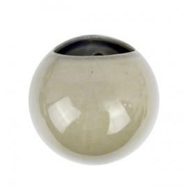 Wandpot Globe Glanzend Grijs