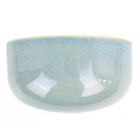 Wandpot Oval Wide Glanzend Groen