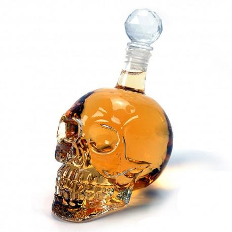 Skull Fles