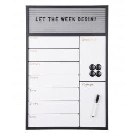 Weekplanner Memobord Serene