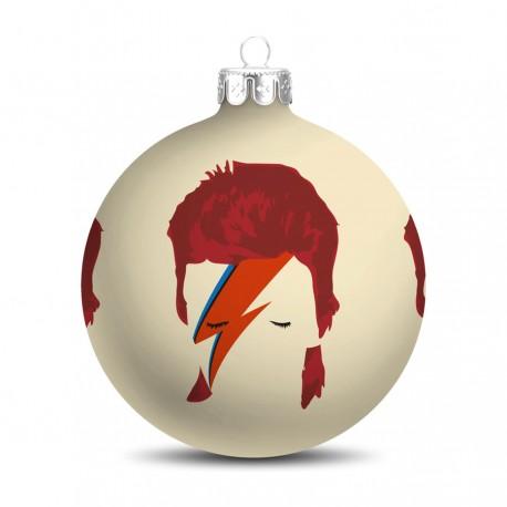 Popart Kerstbal David Bowie