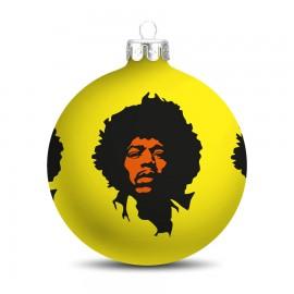 Popart Kerstbal  Jimi Hendrix