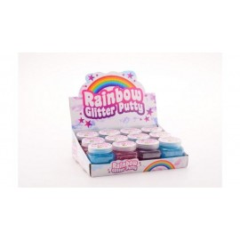 Rainbow Glitter Putty Glitterslijm