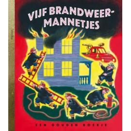 Vijf Brandweermannetjes. Een gouden boekje