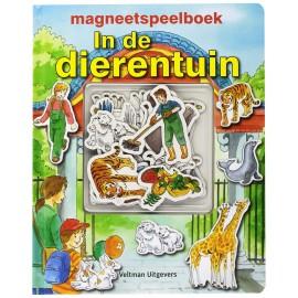 Magneetspeelboek In de Dierentuin