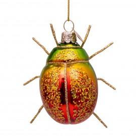 Kerstbal Tor met Glitters