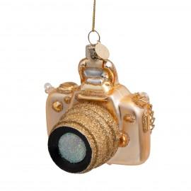 Kerstbal Camera Goud