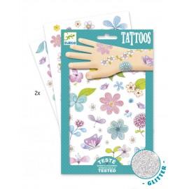 Djeco Tattoos Bloemen