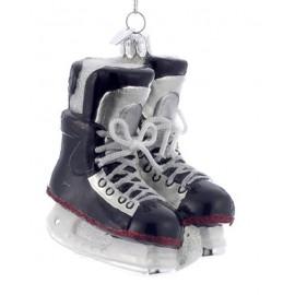 Kerstbal IJshockey Schaatsen