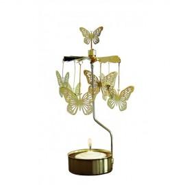 Angel Chimes Gouden Vlinder