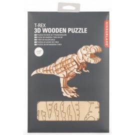 T- Rex Houten 3D Puzzel