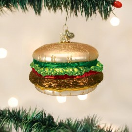 Kerstbal Cheeseburger
