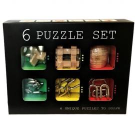 Set van 6 Puzzels