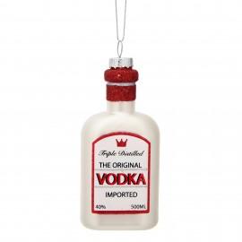 Kerstbal Fles Wodka