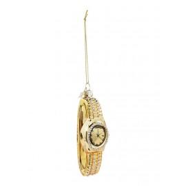 Kerstbal Gouden Horloge