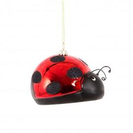 Kerstbal Lieveheersbeestje