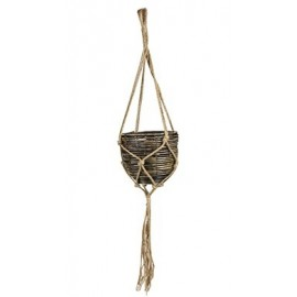 Hangpot Gemma bruin H16