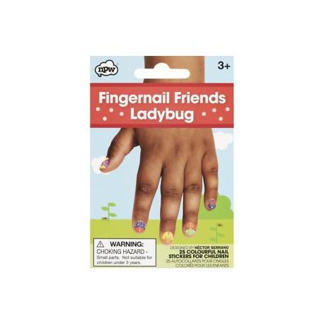 Fingernail Friends Ladybug