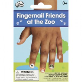 Fingernail Friends At the Zoo