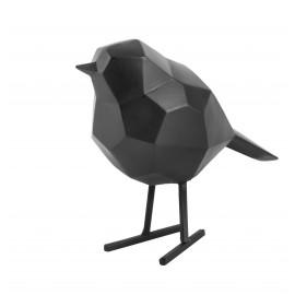 Beeld Vogel mat zwart small