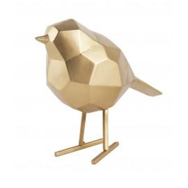 Beeld Vogel goud small