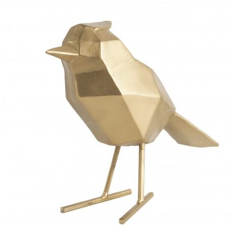 Beeld Vogel goud large