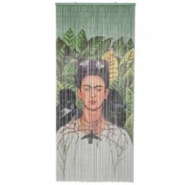 Deurgordijn Frida Kalho met Aap