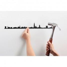 The Line Skyline Antwerpen zwart 50 cm