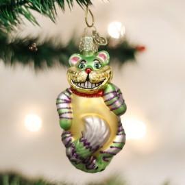 Kerstbal Cheshire de Kat