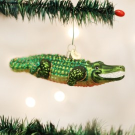 Kerstbal Alligator