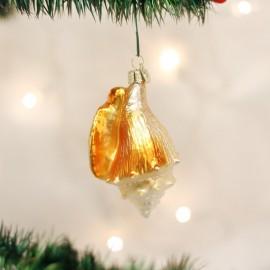 Kerstbal Gouden Zeeschelp