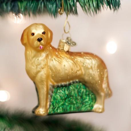 Kerstbal Golden Retriever