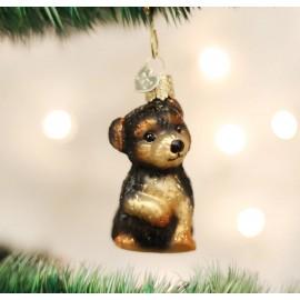 Kerstbal Yorkshire Pup