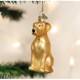 Kerstbal Labrador Blond
