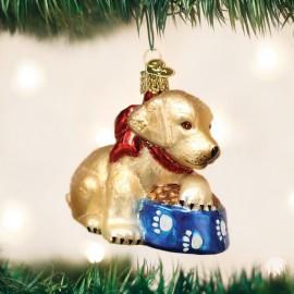 Kerstbal Labrador Pup