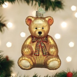 Kerstbal Teddy Beer