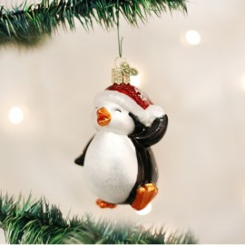 Kerstbal Dansende Pinguin
