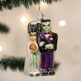 Kerstbal Frankenstein met bruid