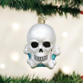 Kerstbal Skull en Bones