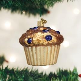 Kerstbal Bosbessen Muffin