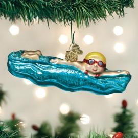 Kerstbal Zwemmer