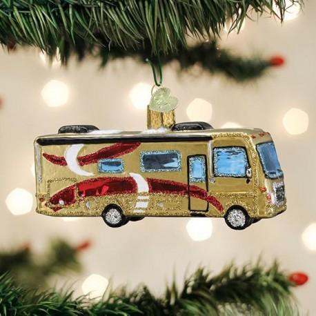 Kerstbal Luxe Camper