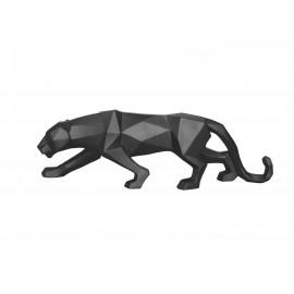 Beeld Origami Panter mat zwart