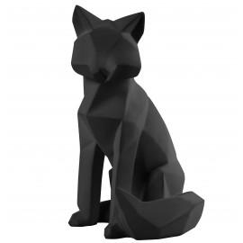 Beeld Origami Vos large mat zwart