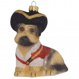 Kerstbal Piraten Pup