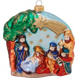 Kerstbal de Geboorte van Jezus